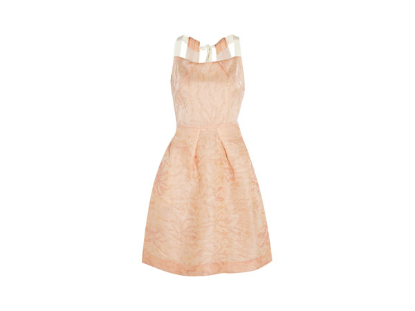 Silk-blend organza dress from Roland Mouret