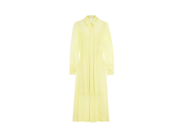 Silk-chiffon midi dress from Matthew Williamson
