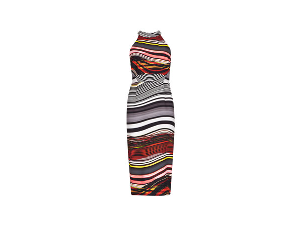 Speziale abstract print bodycon dress from Per Una