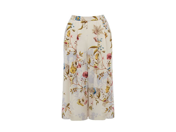 Anna Maria print culotte from Oasis