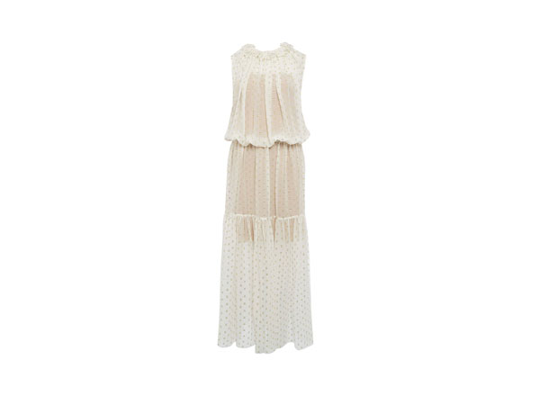 Callista ruffle spot maxi dress from Stella McCartney