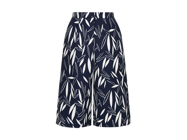 Cape leaf culottes from Topshop