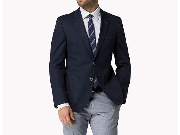 Cuypers-e fitted blazer from Tommy Hilfiger