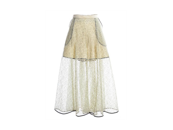 Lace culottes with short underlay from Kirsty Ward