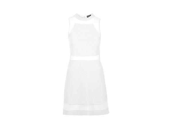Mesh insert skate dress from Topshop