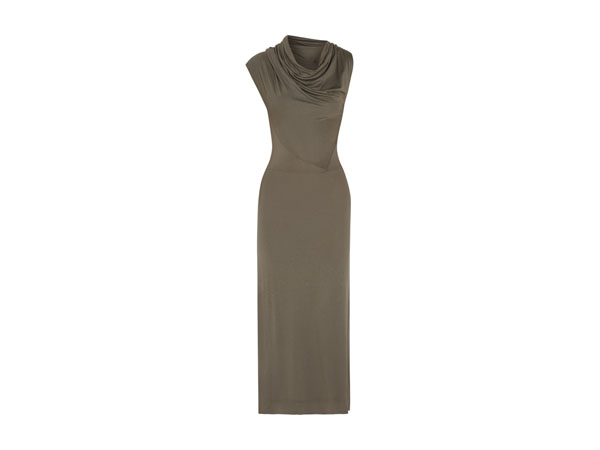 Mosaic draped stretch-jersey maxi dress from Vivienne Westwood Anglomania