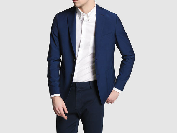 Navy mens blazer from ESPRIT