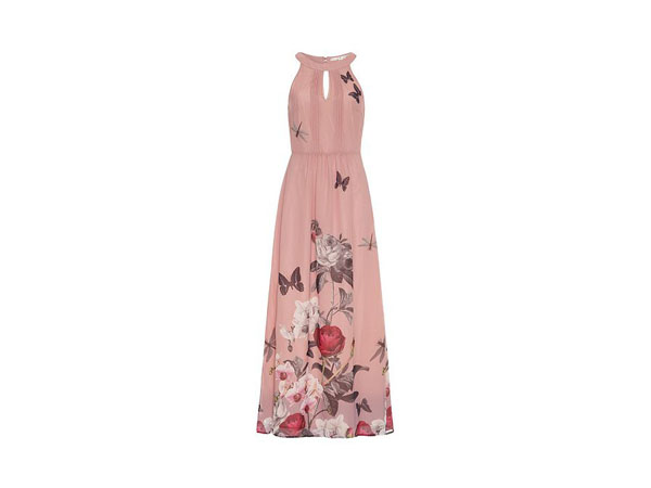 Orchid jardin print maxi dress from Uttam Boutique