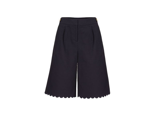 Scallop detail culottes from Biba