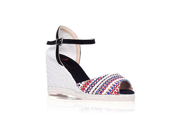 Ava H8 high wedge heel sandals from Castaner
