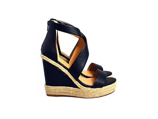 Kylie wedge sandals from Sam and Billie for Carlton London