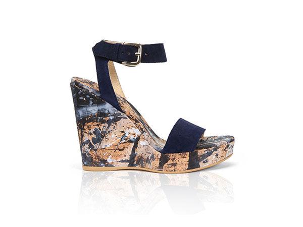 Sundials wedge heels from Stuart Weitzman
