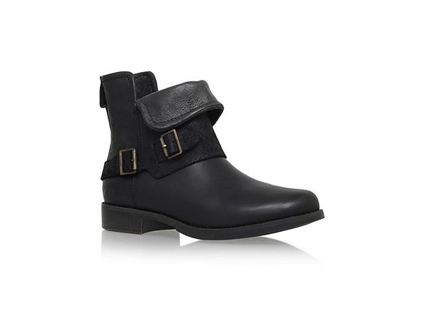 Cybele flat buckle detal ankle boots from UGG