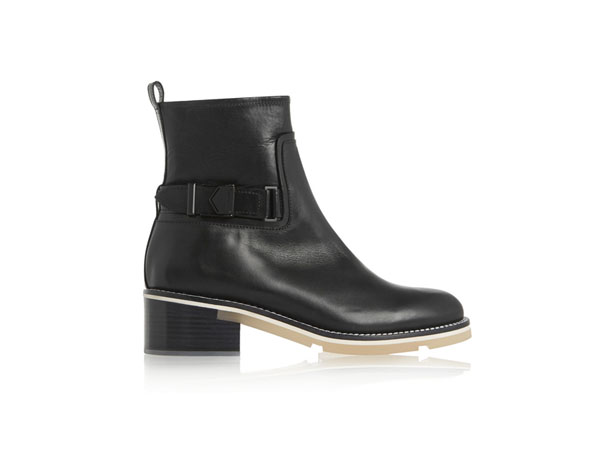 Microsole leather ankle boots from Nicholas Kirkwood