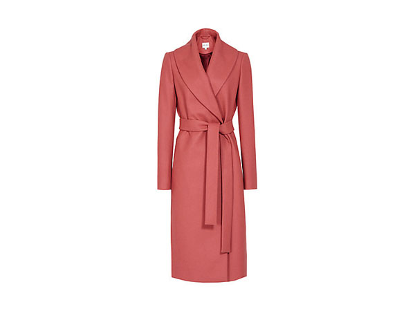 Lennie wrap coat from Reiss