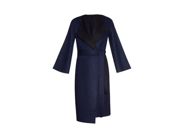 Thildon double-faced wool-blend coat from The Row