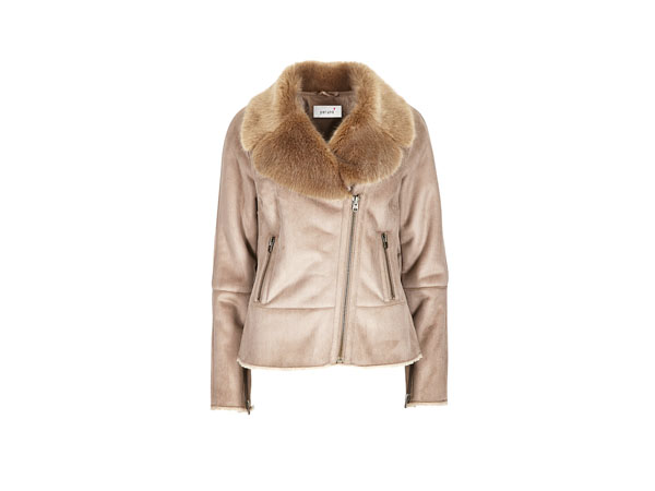 Faux fur shearling jacket from Per Una by Marks and Spencer
