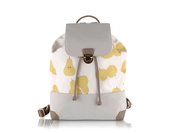 Apples and pears backpack from Radley