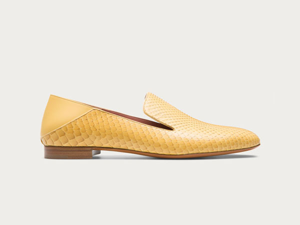 Boell python slippers from Bally