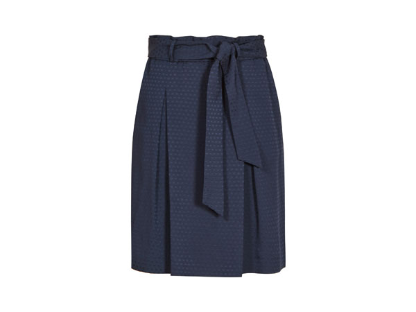 Box-pleat skirt from Reiss