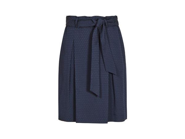 Box-pleat skirt from Reiss