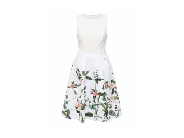 Karolie secret trellis print dress from Ted Baker