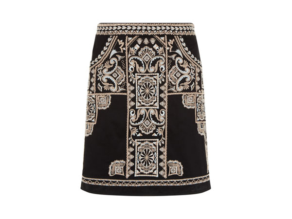 Mallory embroidered skirt from Monsoon