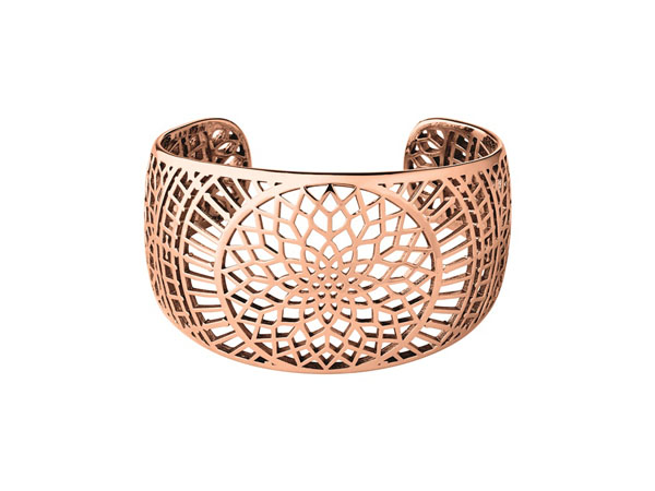 Rose gold vermeil cuff from Links of London