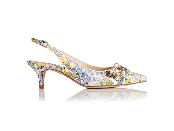 Emmie floral sling backs from LK Bennett