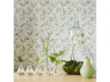 Large pear glass terrarium from Laura Ashley