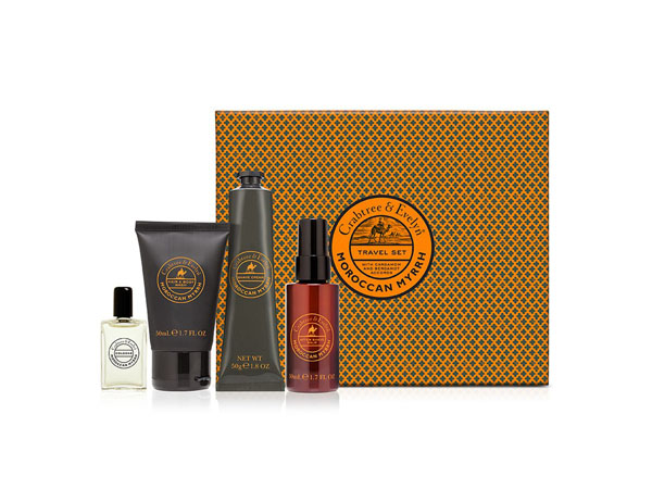 Moroccan myrrh travel kit from Crabtree and Evelyn