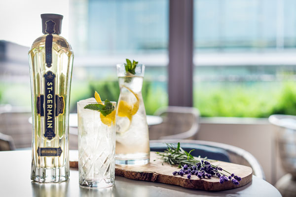 St Germain pop-up terrace at South Place Hotel