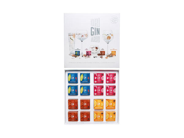 Drink pick: 16 piece botanical set from Originario