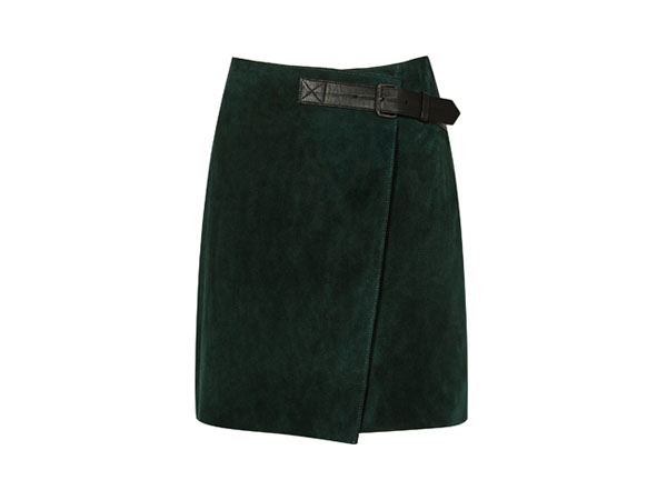 Fashion pick: Chase suede mini wrap skirt from Reiss