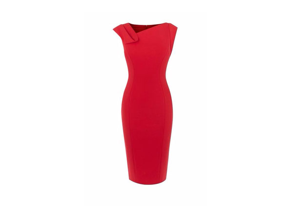 Fashion pick: Fold detail pencil dress from Karen Millen
