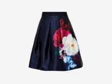 Fashion pick: Lipka blushing bouquet pleated skirt from Ted Baker