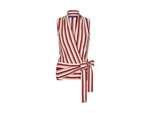 Fashion pick: Stripe wrap top from Winser London