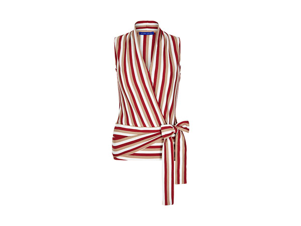 Fashion pick: Stripe wrap top from Winser London