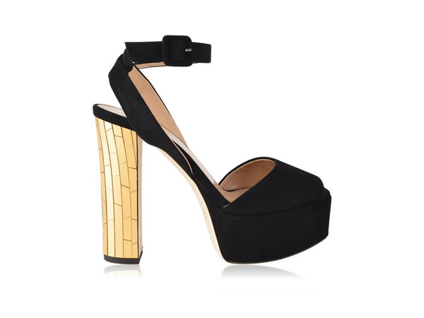 Betty platform mirrored heels from Giuseppe Zanotti