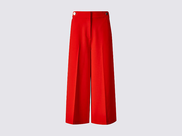Cropped wide leg trousers from Per Una