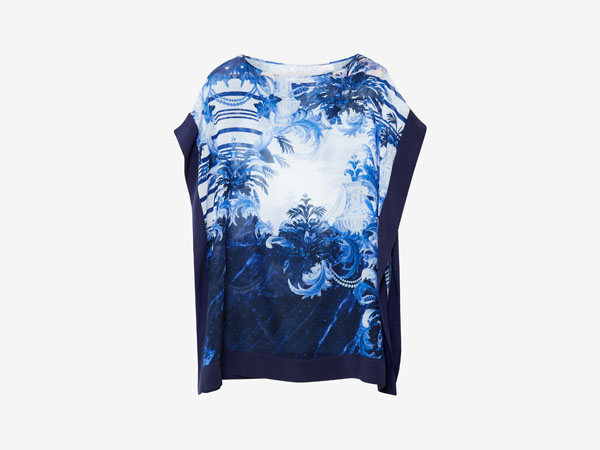 Hellie Persian blue cover up from Ted Baker