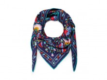 Lodden silk scarf from Liberty London