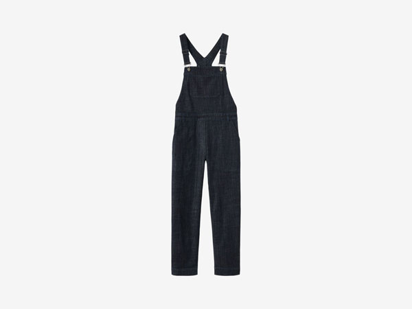 Stretch denim dungaree from Toast