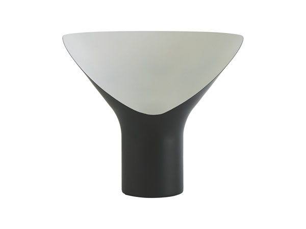 Tuba black metal table lamp from Habitat