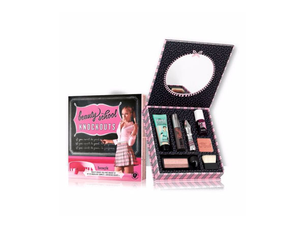 Beauty school knockouts kit from Benefit Cosmetics