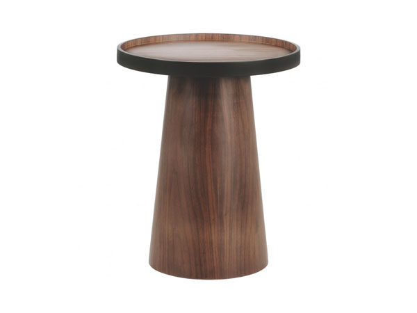 Brodi walnut side table from Habitat