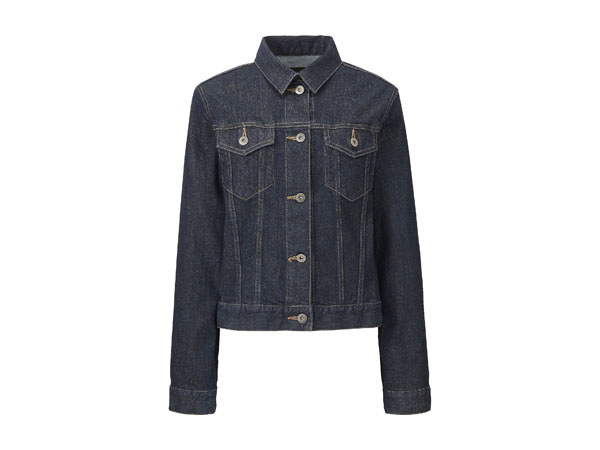 Denim jacket from Uniqlo