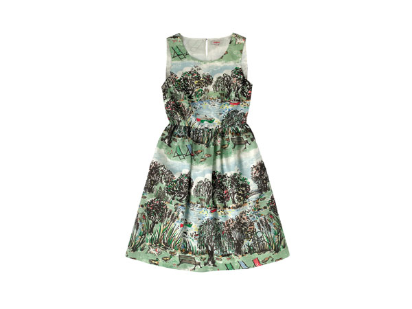 London park sleeveless cotton dress from Cath Kidston