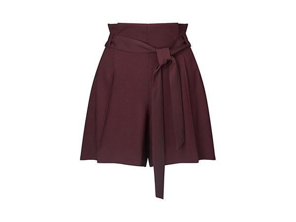 Paper bag shorts from Miss Selfridge