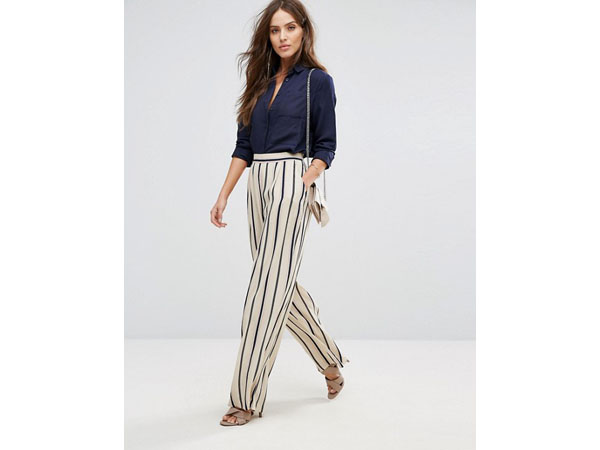 Stripe pant from YAS